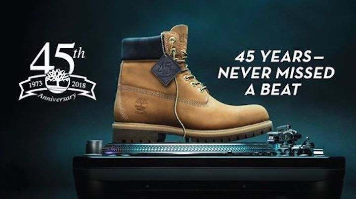 7db124118aaf 45 YEARS OF CELEBRATING HISTORY WITH TIMBERLAND