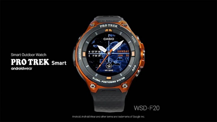 e08bef99919 Casio to Release PRO TREK Smart Outdoor Watch with Offline Maps Operates on  Wear OS by Google