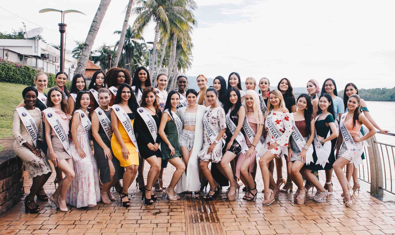Afo Radio Events Tendencies Kaos Mountain Calling Hitam M Miss Cosmopolitan World 2018 Contestants