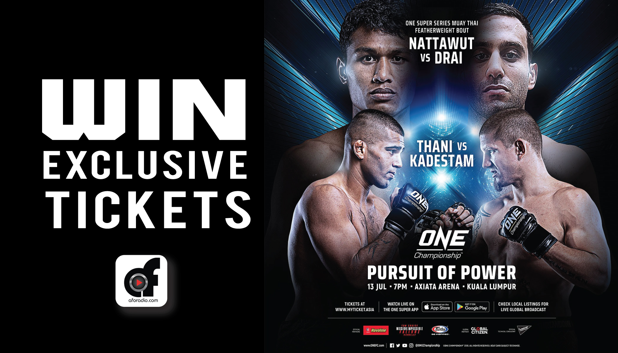 ONE  PURSUIT OF POWER   AXIATA ARENA cdfbcf463