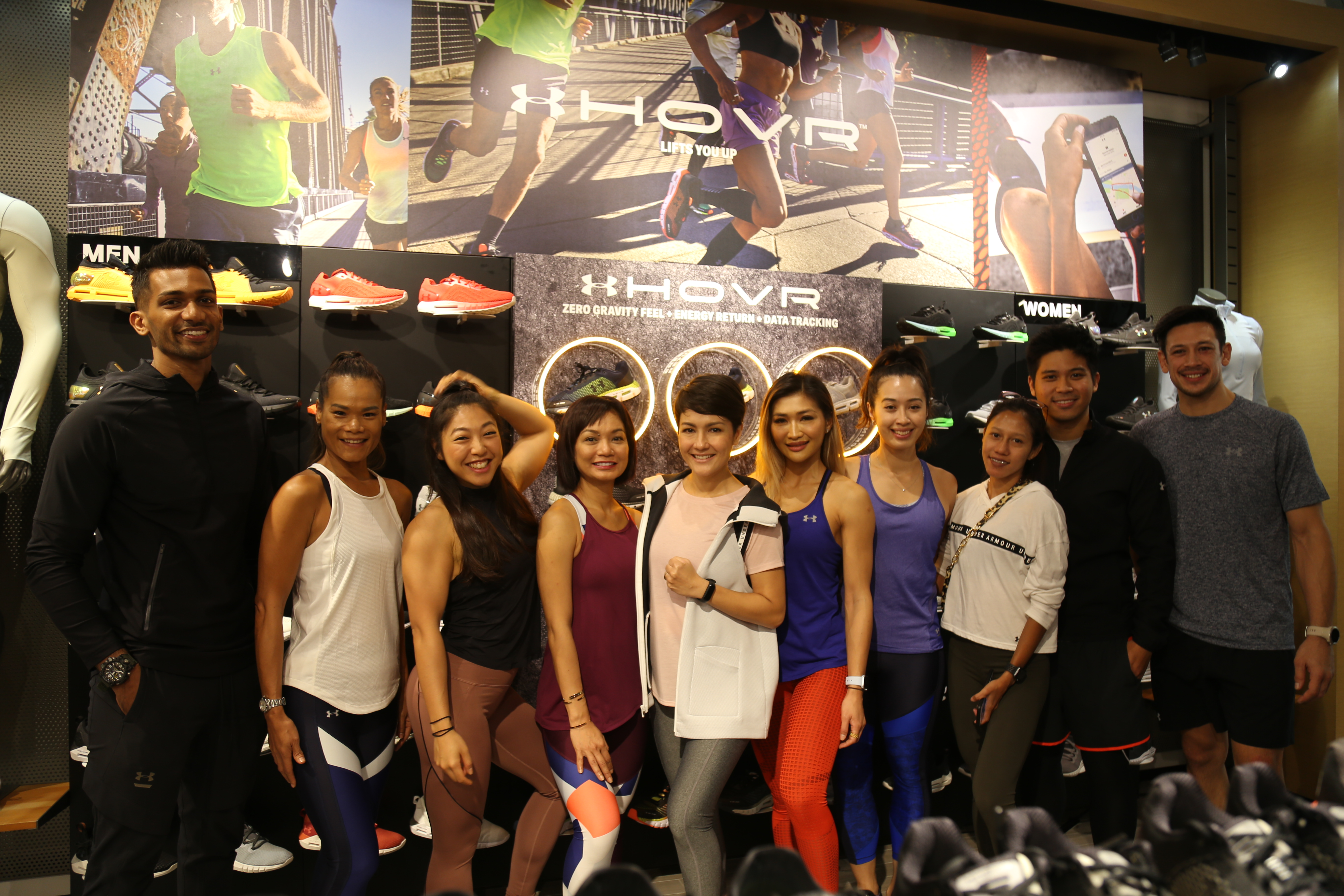 1b56c6d812 Lauching HOVR Under Armour Run Suite SS 2019 Connected Fitness    www.aforadio.com